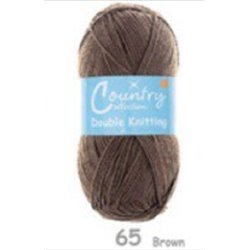 Country Collection DK Brown 65  100g