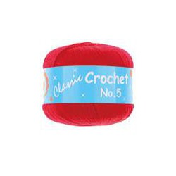 BL Crochet No.5 Red 13  50g