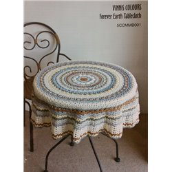 Vinnis Forever Earth Tablecloth 5CCMMB001