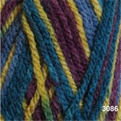 Bravo DK Purple/Yellow/Blue Mix 3086 50g