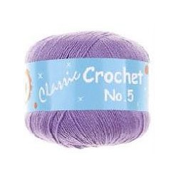 BL Crochet No.5 048 Purple 50g