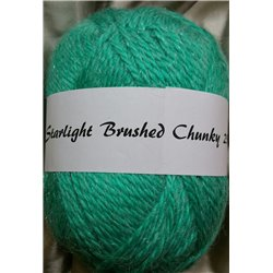 Starlight Brushed Chunky Green 250g