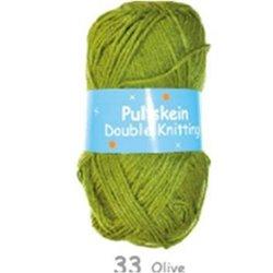 BL Pullskein DK Olive 076 100g