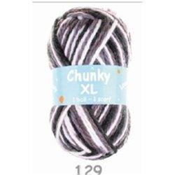 BL Chunky XL White/Dk Beige/Choclate 129 200g