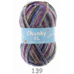 BL Chunky XL Greys/Royal/DrkLilac 139 200g