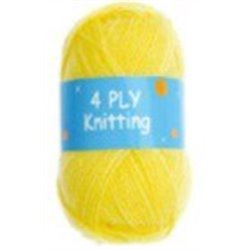 BL 4ply Yellow 62  25g