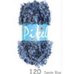 Pixels Denim Blue 120 50g