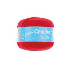 BL Crochet No.5 Red 13  50g