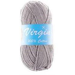 BL Virgin DK Cotton Lt Grey 59 100g