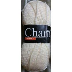 Charity Chunky Ecru 014 100g