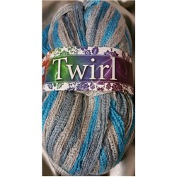 Twirl Multi Cloudy Blue 306 100g