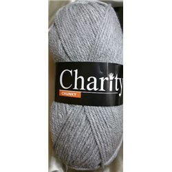 Charity Seriously Chunky Siver Grey 011 150g