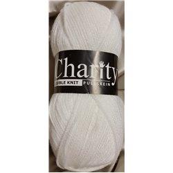 Charity DK White 001 100g