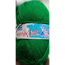 Elle Family Knit DK Bright Green 022 50g
