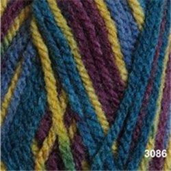 Bravo DK Purple/Yellow/Blue Mix 3086 50g