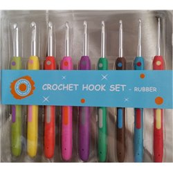 Crochet Hook Set 9 - Soft Grip