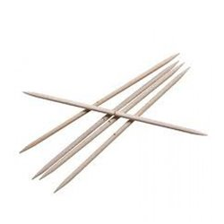 Double Pointed Needles 6mm Alum.