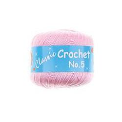 BL Crochet No.5 Pink 18  50g