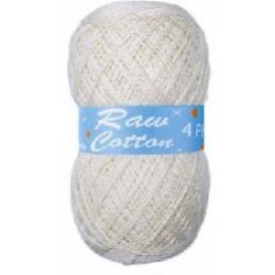 Raw Cotton 4Ply Natural 250g