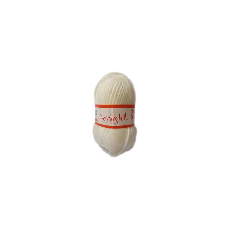 Elle Family Knit Chunky 105 Porcelain 50g - Wol en Naalde