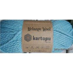 Melange Wool Turquoise K5017 100g