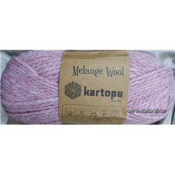 Melange Wool Purple-Pink MK110 100g