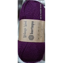 Melange Wool Plum K729 100g
