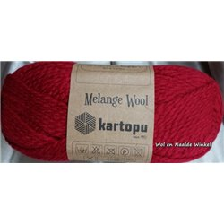 Melange Wool Red K2117 100g