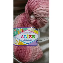 Burcum Bebe Batik Dusty Pink Mix 5652 100g